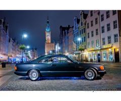 """Ślicznotka""- Mercedes SEC500"