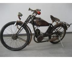 Zabytkowe motocykle do Sesji Filmu Reklamy itp.