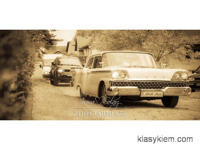 Zabytkowy Ford, retro, wynajem Małopolska.