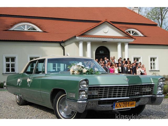 Zabytkowy Cadillac, wynajem zabytków Małopolska.