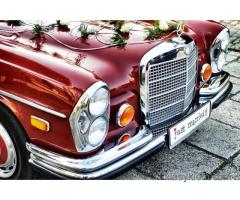 Zabytkowy Mercedes W 109.