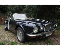Zabytkowy Jaguar XJ6 z 1976 roku