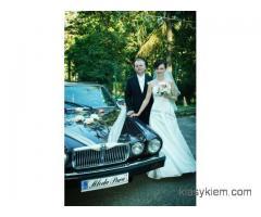 Auto do ślubu lublin - Zabytkowy Jaguar XJ6