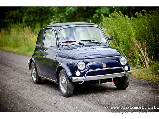 Fiat 500 do ślubu - Zabytek!