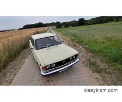 Fiat 125p - kremowa legenda do ślubu