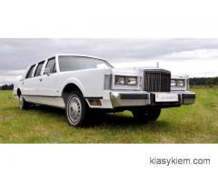Lincoln - klasyczna limuzyna do ślubu