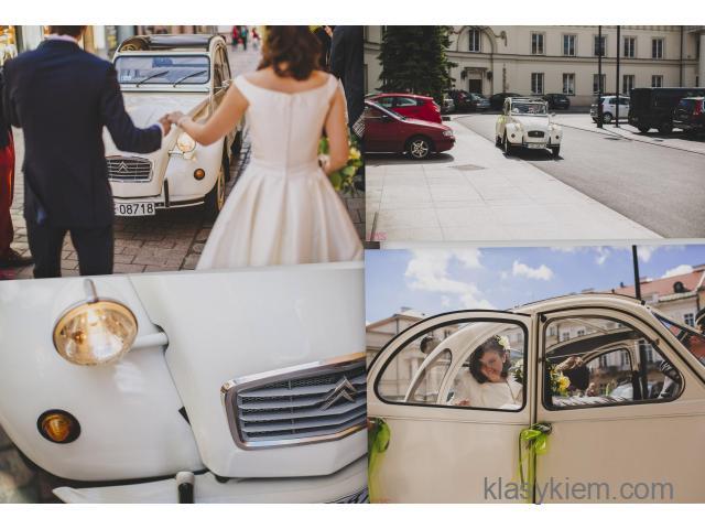 Citroen 2cv - samochód do ślubu i na inne okazje