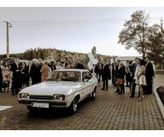 Zabytkowy Samochód Ford Capri na Wesele Do Slubu