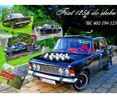 Fiat 125p do ślubu Wałbrzych