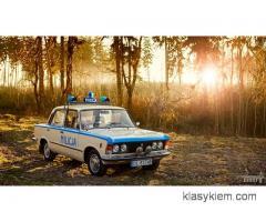 Fiat 125p Milicja do ślubu - Vanilla